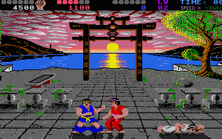 And all of a sudden, this harmless Karate game has turned into a cyber orgie :-)