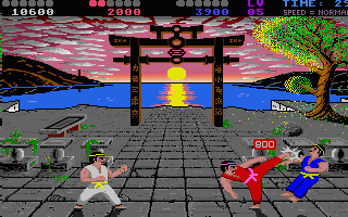 Once you've crossed the 10 000 points barrier you'll get the yellow belt.