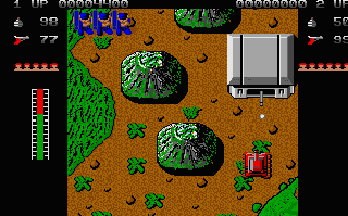 Once you entered a tank, you can just wals over the enemy troops!
