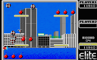 The twin towers make a cameo in this game.