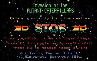 Thumbnail of other screenshot of Invasion of the Mutant Caterpillars