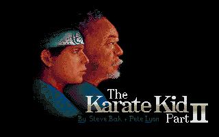 Screenshot of Karate Kid Part 2