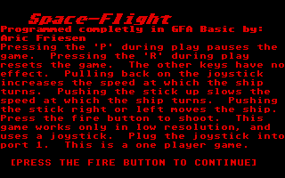 Thumbnail of other screenshot of Space-Flight