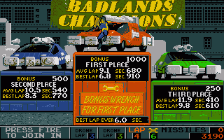 Screenshot of Badlands