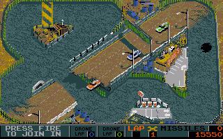 Screenshot of Badlands