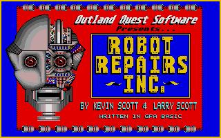 Screenshot of Robot Repairs Inc.