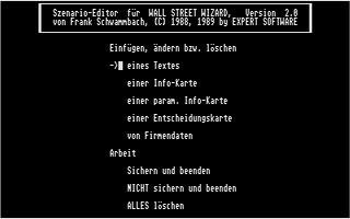 Thumbnail of other screenshot of Wall Street Wizard - Szenario Editor