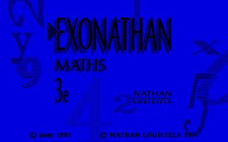 Thumbnail of other screenshot of Exonathan Maths 3e