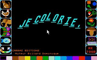 Screenshot of Je Colorie