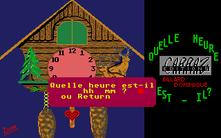 Screenshot of J'Apprends L'Heure