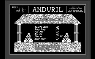 Screenshot of Anduril
