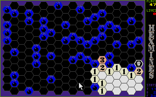 Thumbnail of other screenshot of Hexmines