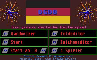 Thumbnail of other screenshot of Grosse Deutsche Ballerspiel, Das