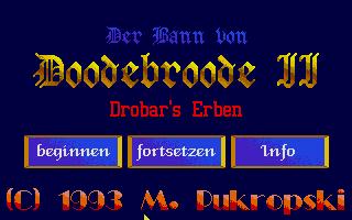 Screenshot of Bann Von Doodebroode II, Der - Drobars Erben