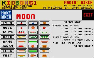 Screenshot of Kidsong1