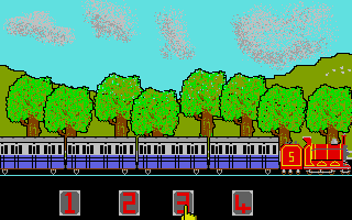 Thumbnail of other screenshot of Train Game, The