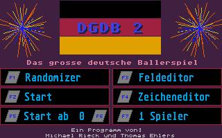 Thumbnail of other screenshot of Grosse Deutsche Ballerspiel II, Das