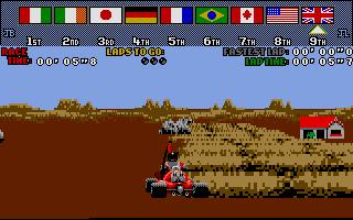 Screenshot of Drivin' Force