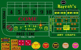 Screenshot of Casino Craps
