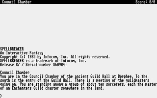 Screenshot of Spellbreaker