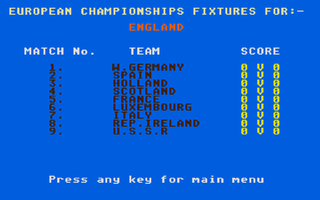 Thumbnail of other screenshot of England Team Manager