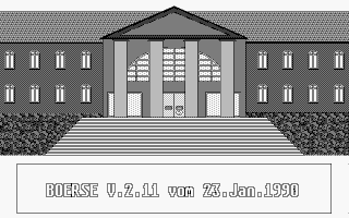 Screenshot of Boerse