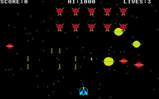 Screenshot of Invaders