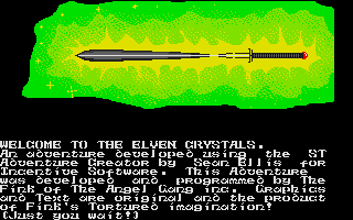 Thumbnail of other screenshot of Elven Crystals, The
