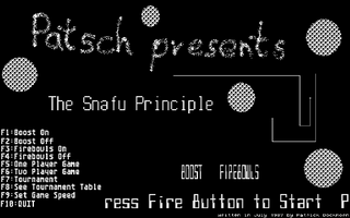 Thumbnail of other screenshot of Snafu Principle, The
