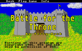 Screenshot of Battle for the Throne