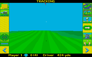 Screenshot of Microprose Golf