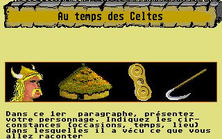 Screenshot of Au Temps Jadis