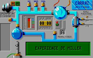 Screenshot of Aux Origines de la Vie
