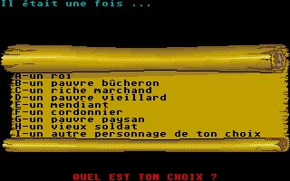 Screenshot of Il Etait Une Fois