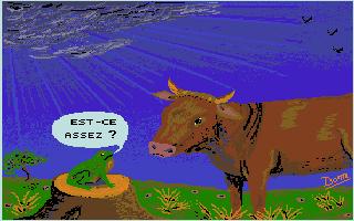 Screenshot of Je Reconstitue les Fables de La Fontaine
