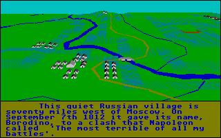 Screenshot of Borodino