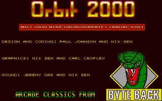 Thumbnail of other screenshot of Orbit 2000