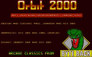 Screenshot of Orbit 2000