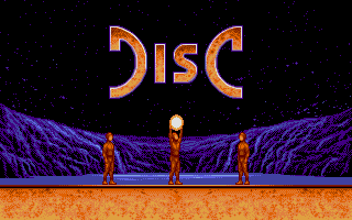 The intro screen to this great game!