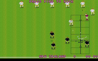 Screenshot of World Class Rugby