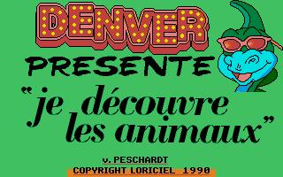 Thumbnail of other screenshot of Denver Présente Je Découvre Les Animaux