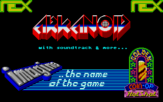Screenshot of Ultimate Arkanoid