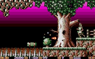 Screenshot of Jim Power In Mutant Planet