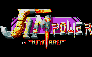 Thumbnail of other screenshot of Jim Power In Mutant Planet