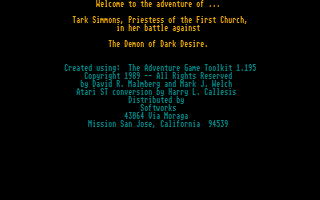 Thumbnail of other screenshot of Tark Simmons - Priestess Of The First Church