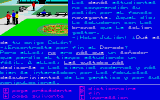 Screenshot of Enigme a Madrid