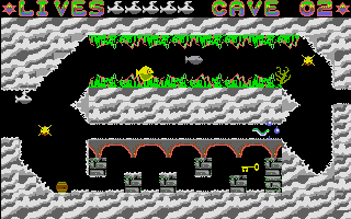 Large screenshot of Caves of Rigel