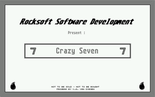 Thumbnail of other screenshot of Crazy Seven