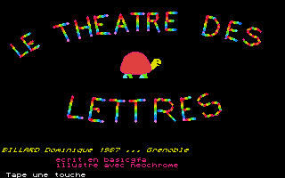 Thumbnail of other screenshot of Le Theatre des Lettres