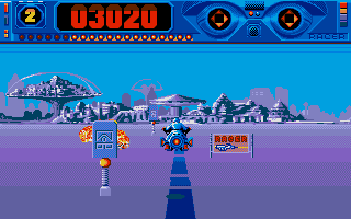 Screenshot of Space Racer